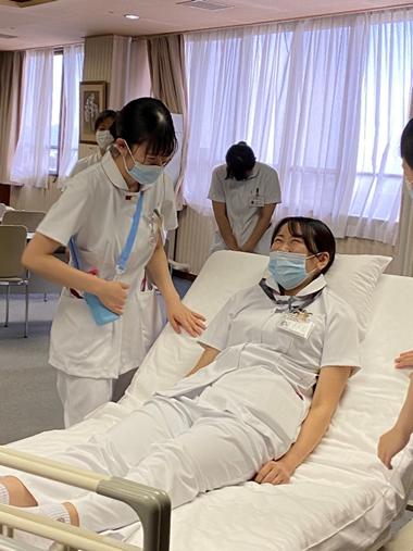 新人看護研修の様子