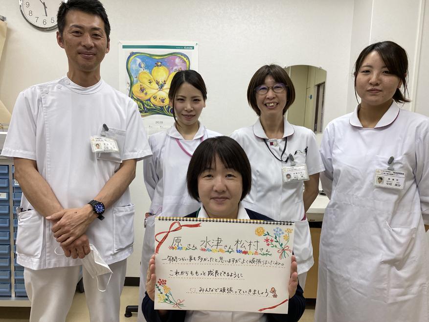 看護部12か月研修の様子
