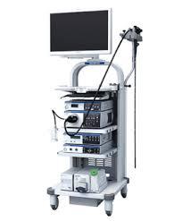 内視鏡業務で使用する機器の写真