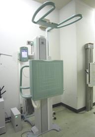 一般X線撮影検査機器(胸部撮影室)