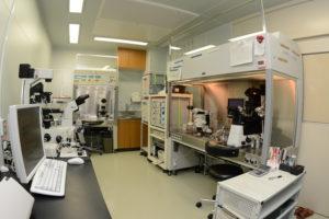 生殖医療室の検査機器
