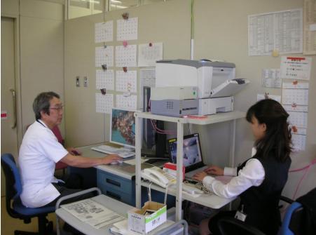 医師事務作業補助者の業務風景