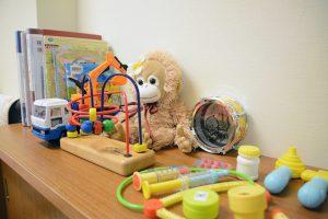 助産院内にあるおもちゃの写真