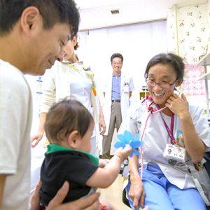 小児科の診察風景その2