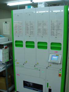 自動錠剤分包機の写真