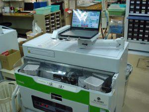 自動散薬分包機の写真